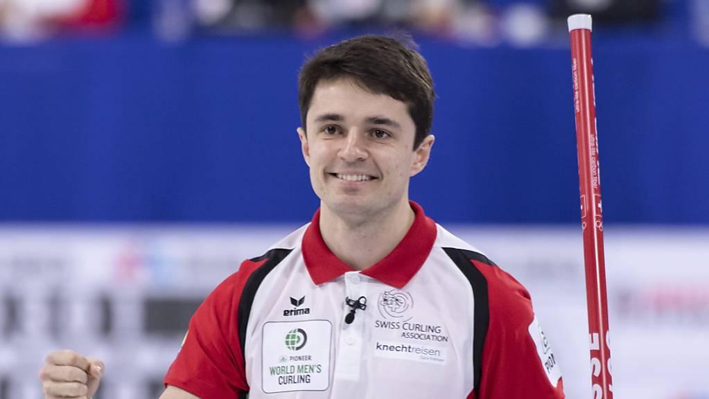 Die Genfer Nummer 4 Benoit Schwarz hat das Zwischenziel erreicht: Final.