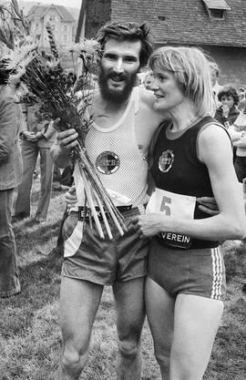 In Schaffhausen wurde 1978 der Schweizermeistertitel im Marathon zur Familienangelegenheit: Marijke Moser gewann bei den Frauen, ihr damaliger Mann Albrecht bei den Männern.