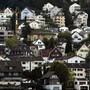Der Risikoindex des Hypothekenvermittlers Moneypark zeigt ein mittleres Risiko einer Blasenbildung am Immobilienmarkt. (Archivbild)