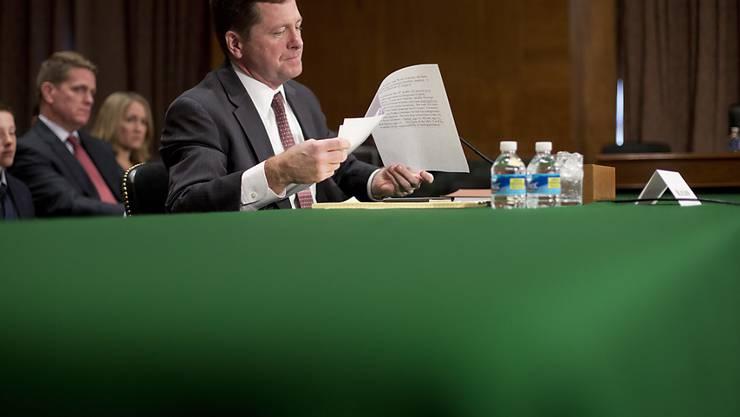 Jay Clayton darf mit dem Segen des US-Senats künftig die Börse beaufsichtigen. (Archivbild)
