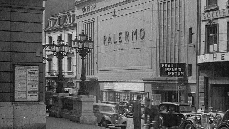 1928 konnte das Kino Palermo direkt gegenüber des Basler Stadttheaters eröffnen.