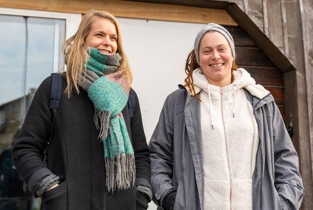 Anita Abegglen (links) und Seraina Vetsch (rechts)