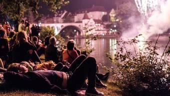 An der Reuss ist es nicht nur am 1. August laut. Das stört die Anwohner.