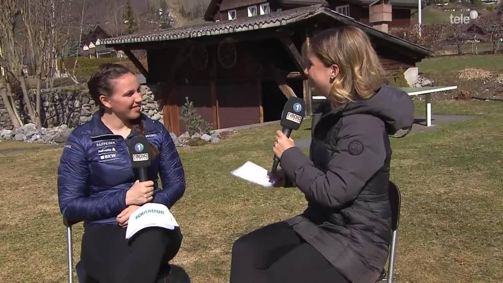 Lena Häcki im Gespräch