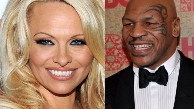 Gemeinsam vor der Kamera: Pamela Anderson und Mike Tyson (Archiv)