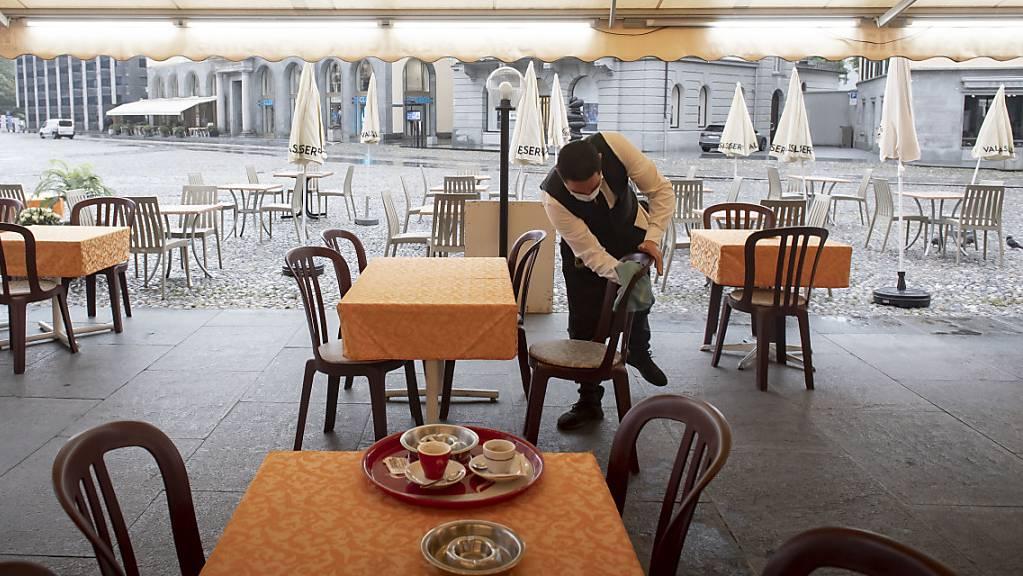 Viele Betriebe haben, trotz den strengen Auflagen, ihre Tore für die Stammkunden wieder geöffnet. Der gesamte Tag verlief für die Gastrobetriebe sehr gut.