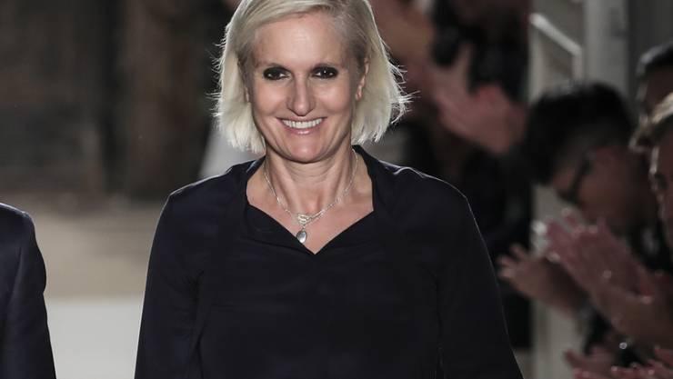 Maria Grazia Chiuri wird als erste Frau Chefdesignerin bei Dior (Archiv)