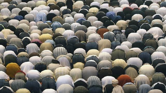 Der Gebetssaal soll 7000 Gläubigen Platz bieten (Archiv)