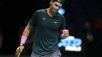 Rafael Nadal gewinnt das entscheidende Gruppenspiel und steht im Halbfinal