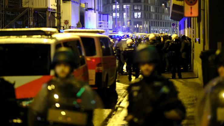 Die Polizei griff aus Gründen der Verhältnismässigkeit nicht ein. (Symbolbild)