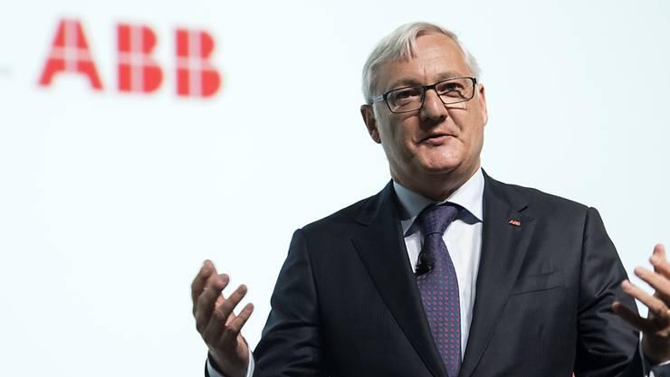 Muss ABB in Doppelfunktion in die Zukunft führen: Peter Voser.