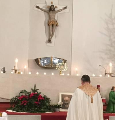 Anbetung in der Christkönigskirche Turgi