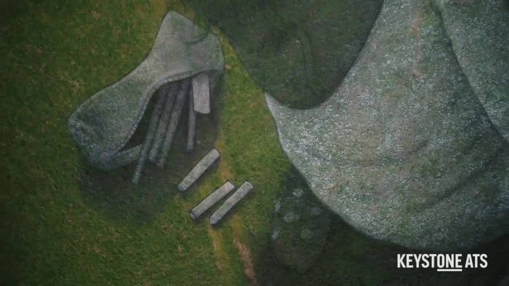 Gigantische und eindrückliche Bodenmalerei zur Coronakrise