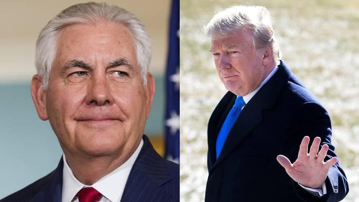 Auch der US-Aussenminister Rex Tillerson begleitet Trump nach Davos.