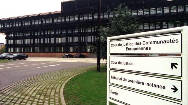 Der Europäische Gerichtshof in Luxemburg (Archivbild)