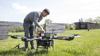 Drohne Flugschule Technopark