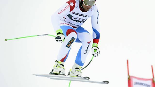 Silvan Zurbriggen gewinnt erneut Europacup-Abfahrt in Sarntal (It)