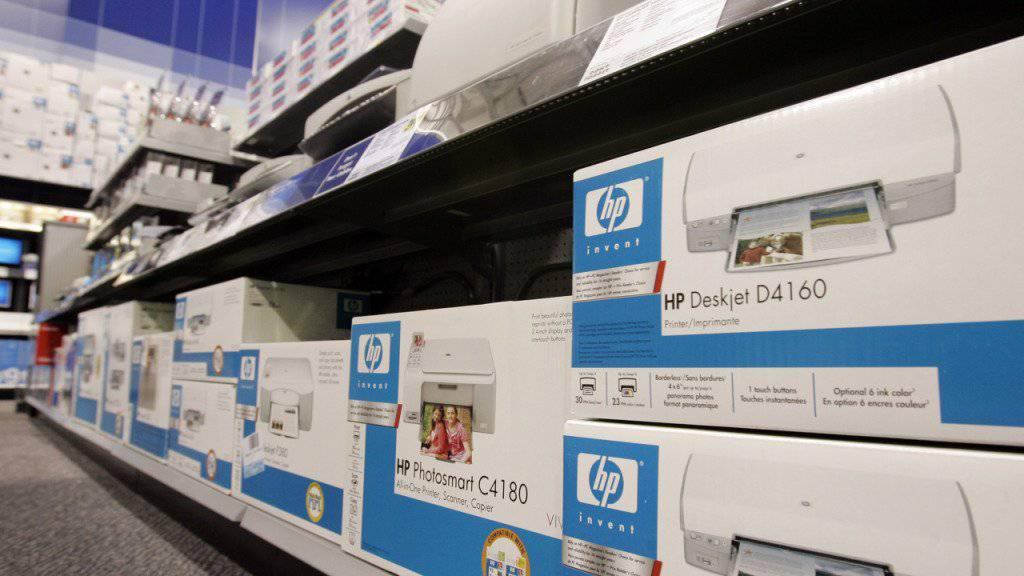 Starke Nachfrage nach Druckern und Computern: HP steigert den Gewinn auf 1,9 Milliarden Dollar. (Archivbild)