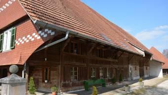 Das von der Wohnbaugenossenschaft Wohnen am Dorfbrunnen umgebaute Bauernhaus.