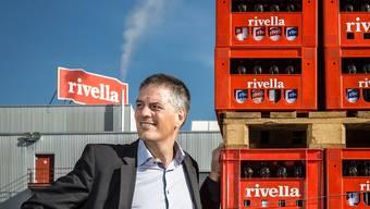 Rivella-Chef Erland Brügger am Hauptsitz in Rothrist: «Es ist mit grossen Risiken verbunden, aus dem Nichts eine neue Marke aufbauen zu wollen.» Chris Iseli