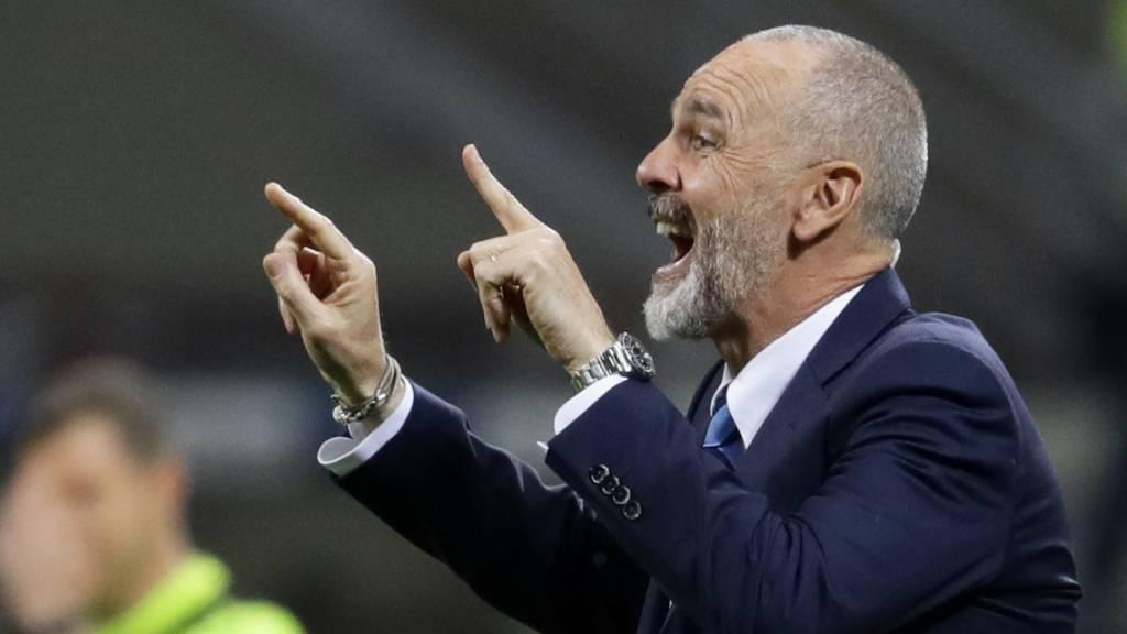 Stefano Pioli ist Giampaolos Nachfolger bei Milan