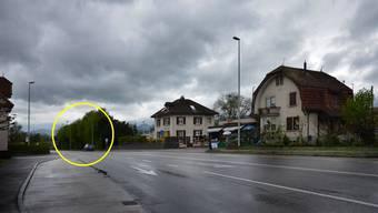 Hier warf der 55-jährige Bosnier die Handgranate nach seiner Frau.