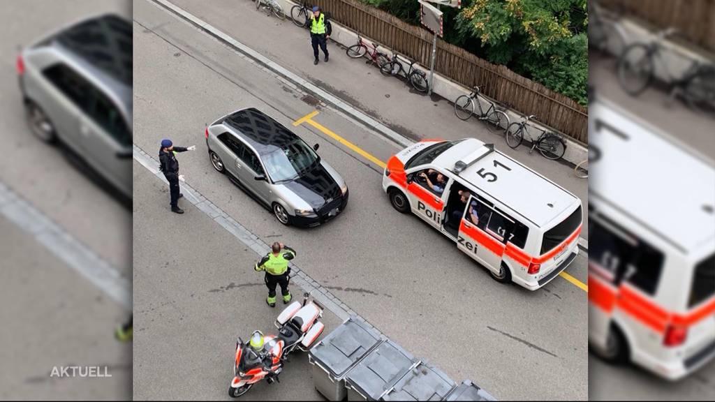Verfolgung in Zürich: 24-Jähriger rennt in Handschellen der Polizei davon