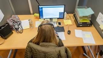 Die Aargauer Contact Tracer erhalten ab Freitag Hilfe von Zivilschützern.