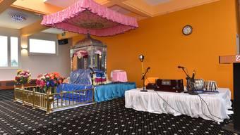 Besuch im Sikh-Tempel in Däniken