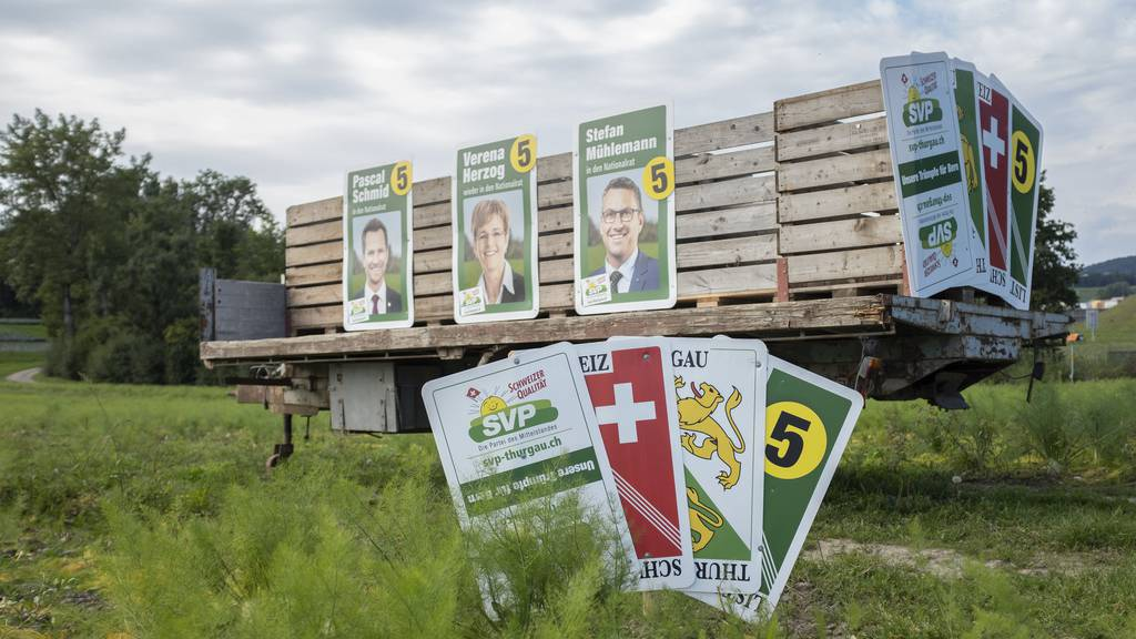 Grüne Thurgau greifen nach SVP-Sitz