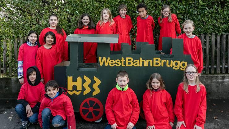 Freuen sich auf den Brugger Fasnachtsumzug: die Kinder aus dem Westquartier.