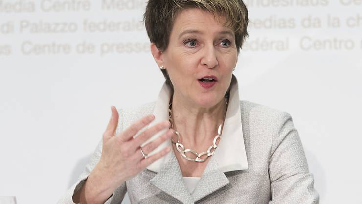 Der Journalismus sei auch im Internetzeitalter absolut unverzichtbar für jede freie demokratische Gesellschaft, sagte Bundesrätin Simonetta Sommaruga anlässlich der Verleihung der Swiss Press Awards am Mittwochabend in Bern. (Archivbild)
