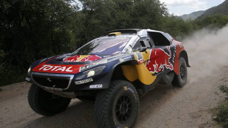 Zum zwölften Mal Sieger des Dakar-Rallyes: Stéphane Peterhansel