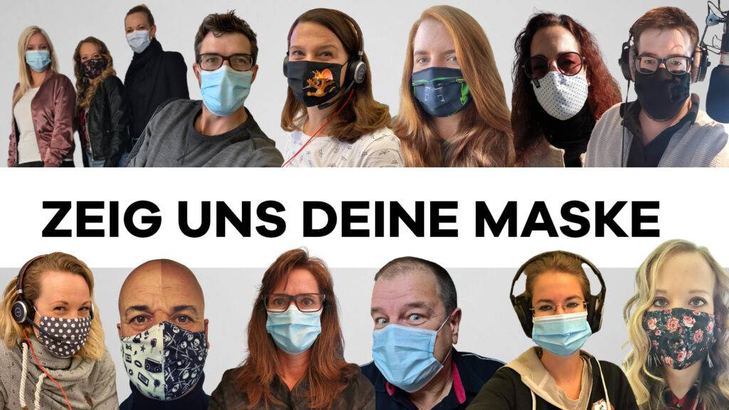 Zeig-uns-deine-Maske - Radio 32 Team
