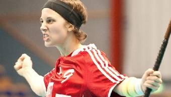 Auf die Schweizerinnen (im Bild Julia Suter) wartet im Halbfinal das Team aus Tschechien