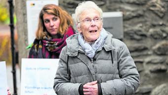 Schuldig wegen Förderung rechtswidriger Einreise: Anni Lanz vor dem Bezirksgericht in Brig.