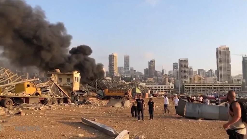 Explosion in Beirut: Berner Libanesen äussern sich zu Horror-Bildern