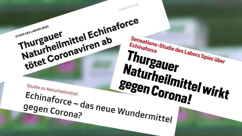 Echinaforce - Swissmedic prüft verbotene Publikumswerbung