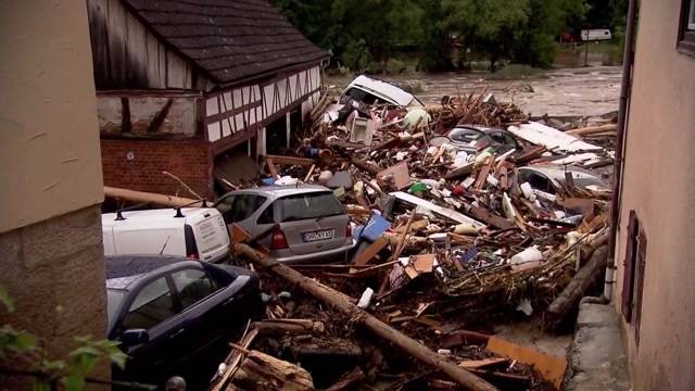 Tödliches Unwetter in Süddeutschland