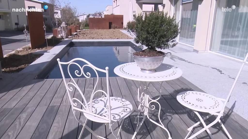 Swimming-Pool-Bauer werden überrannt