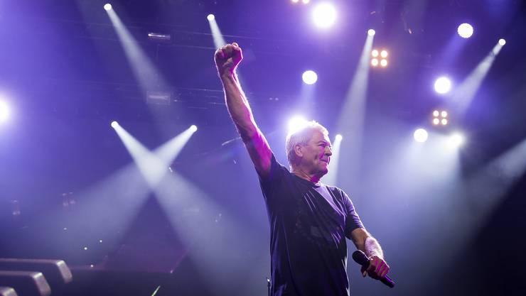 Ein Highlight am diesjährigen Jazzfestival: Deep Purple mit Sänger Ian Gillan. Es war der letzte Auftritt der britischen Kultband in Montreux.