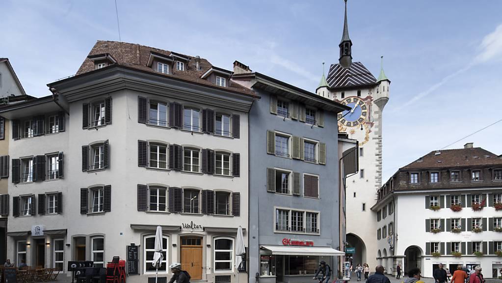 Die Stadt Baden (Bild) und die Nachbargemeinde Turgi machen sich auf den Weg zur Fusion. (Archivild)