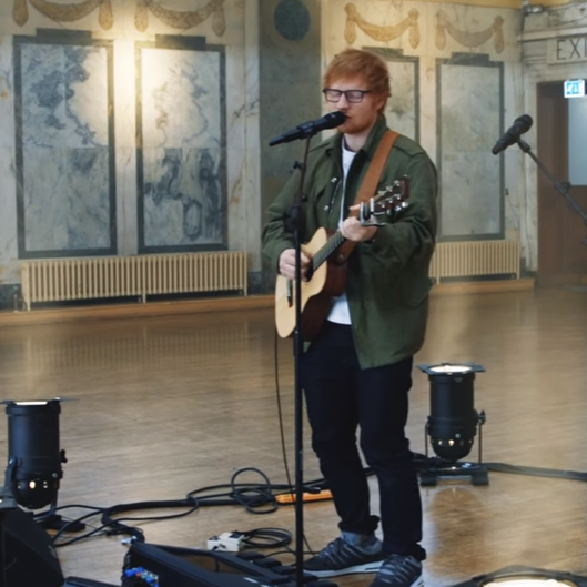 Ed Sheeran covert Justin Bieber
