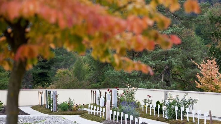 Unspektakulär präsentieren sich die muslimischen Gräber in Zürich Witikon. In Schlieren sprach sich eine Parlamentsmehrheit dagegen aus.