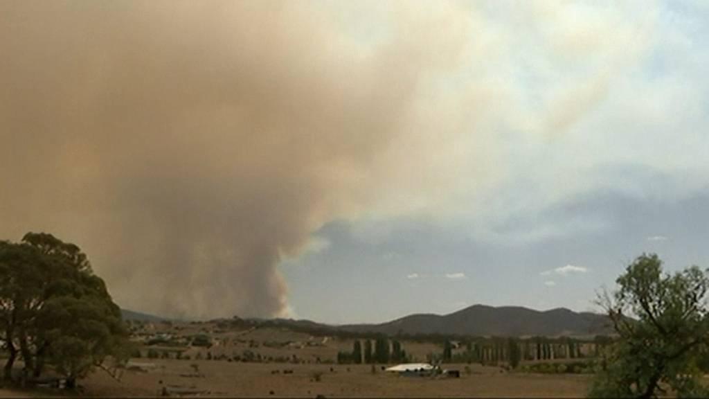 Buschfeuer: Auch Canberra ruft den Notstand aus
