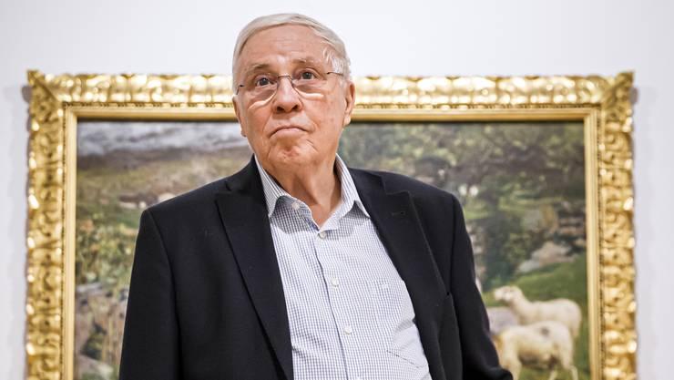 Alt Bundesrat Christoph Blocher möchte seine Rente doch haben: «Wenn ich sehe, wie das rot-grüne Parlament Geld ausgibt, dann darf es keine Geschenke geben an diesen Staat.»