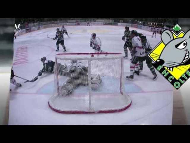EHC Olten vs  EHC Visp, Highlights
