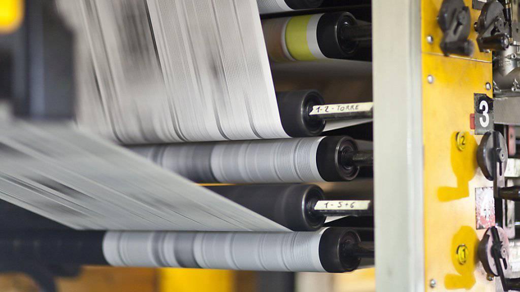 Der neue Gesamtarbeitsvertrag (GAV) der grafischen Industrie wurde nun auch von der Arbeitnehmerseite syndicom und Syna unterzeichnet. Zuvor hatte es Streitigkeiten zwischen den Gewerkschaften und der Arbeitgeberseite gegeben. (Symboldbild)