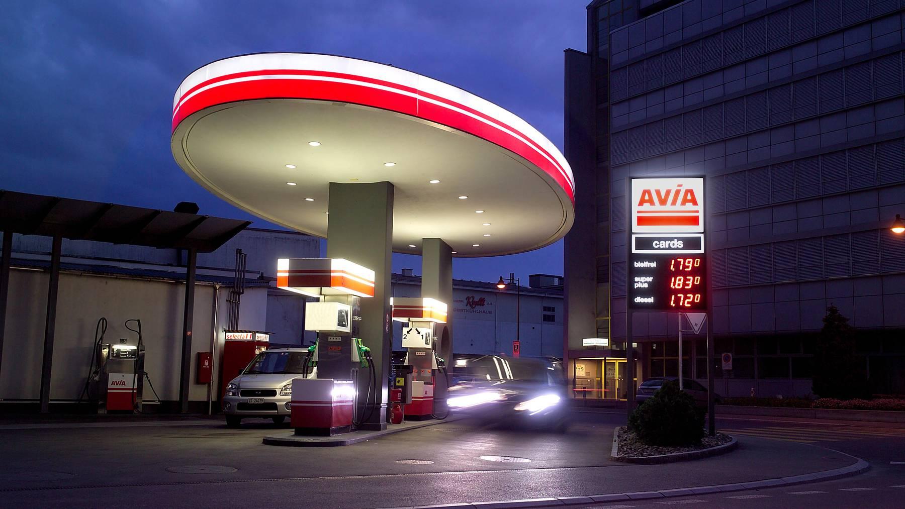 Tanke-Schön: 800 Franken im Jackpot