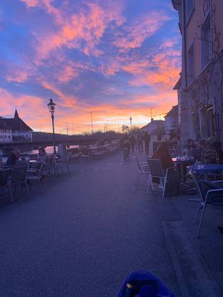 Welch tolle Atmosphäre in Solothurn.